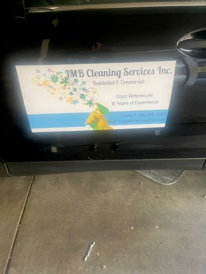 Avatar for JMB cleaning services inc.