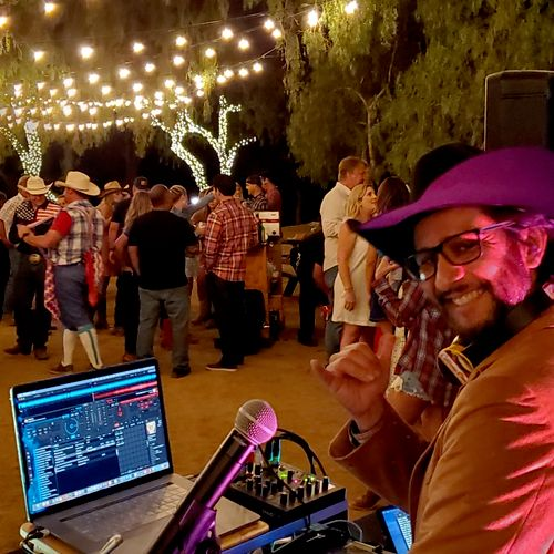 DJ/MCing outdoor events