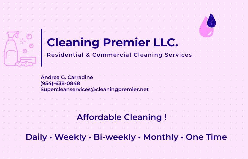 Cleaning Premier LLC