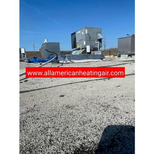 HVAC of Commercial Client