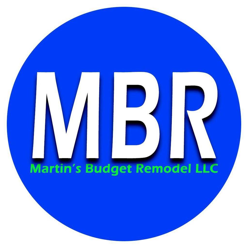 MBR - Martin's Budget Remodel LLC