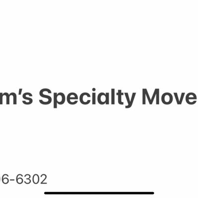 Avatar for Adams specialty moving