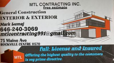 Avatar for MTL Contracting Inc