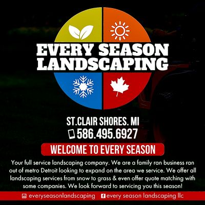 Avatar for Every Season Landscaping
