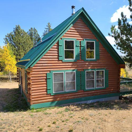 Log home build
