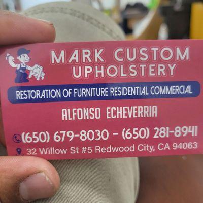 Avatar for Mark custom upholstery