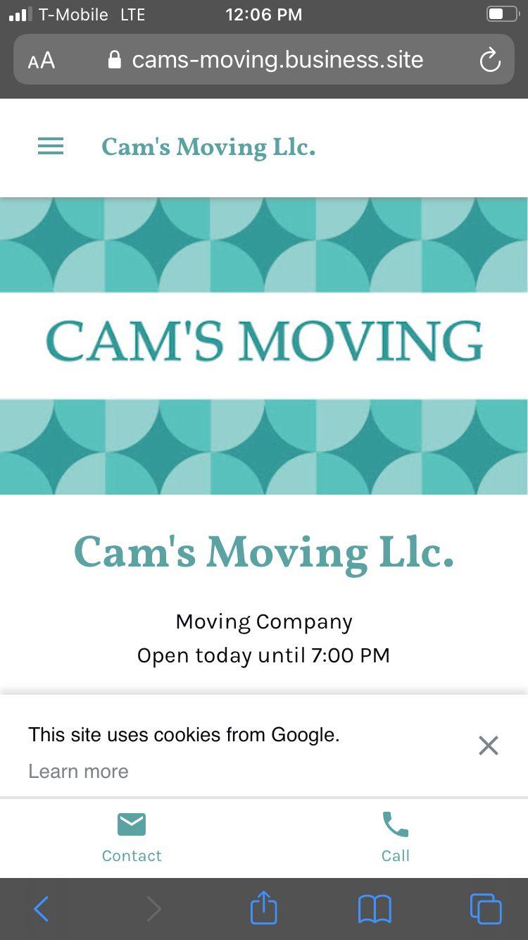 Cams moving LLC