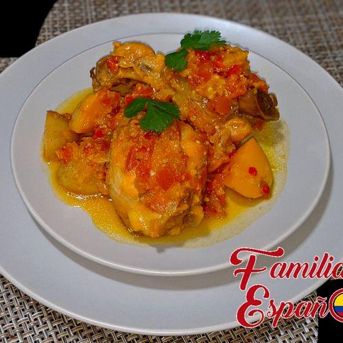 Sudado de Pollo 🇨🇴 (Colombian Chicken Stew)
