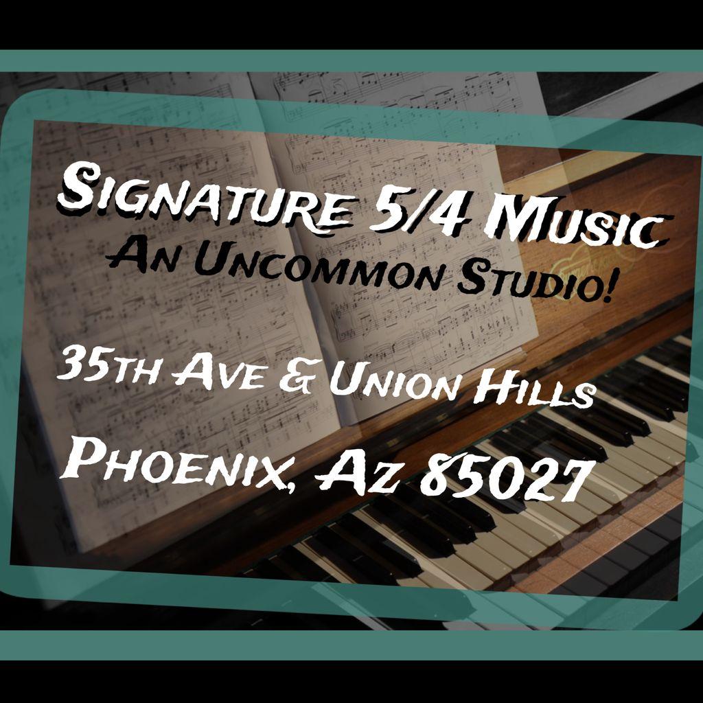 Signature 5/4 Music Studio