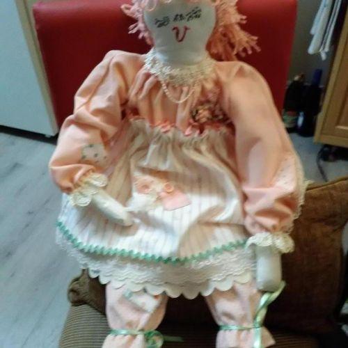 Handmade custom Doll