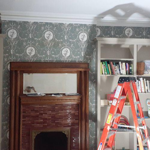Removing Wallpaper!