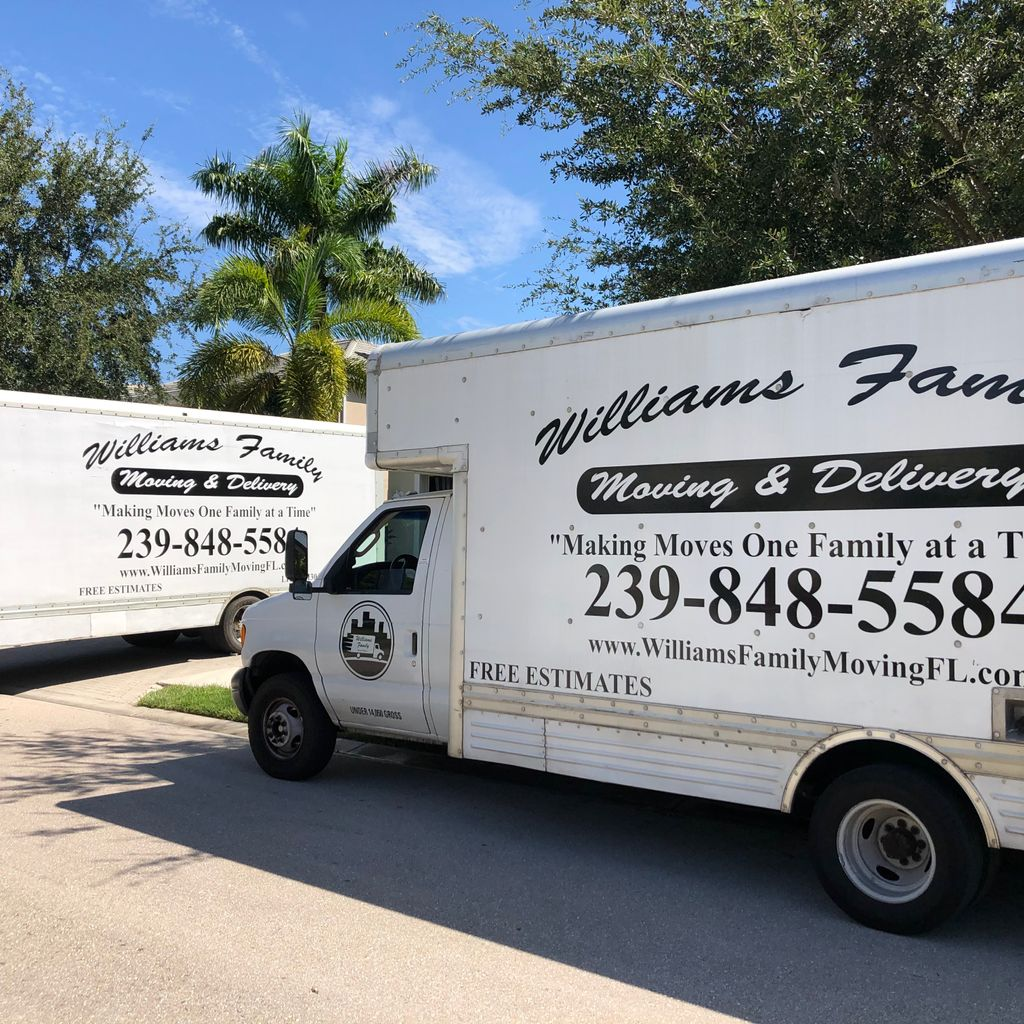 Williams Family Moving & Delivery