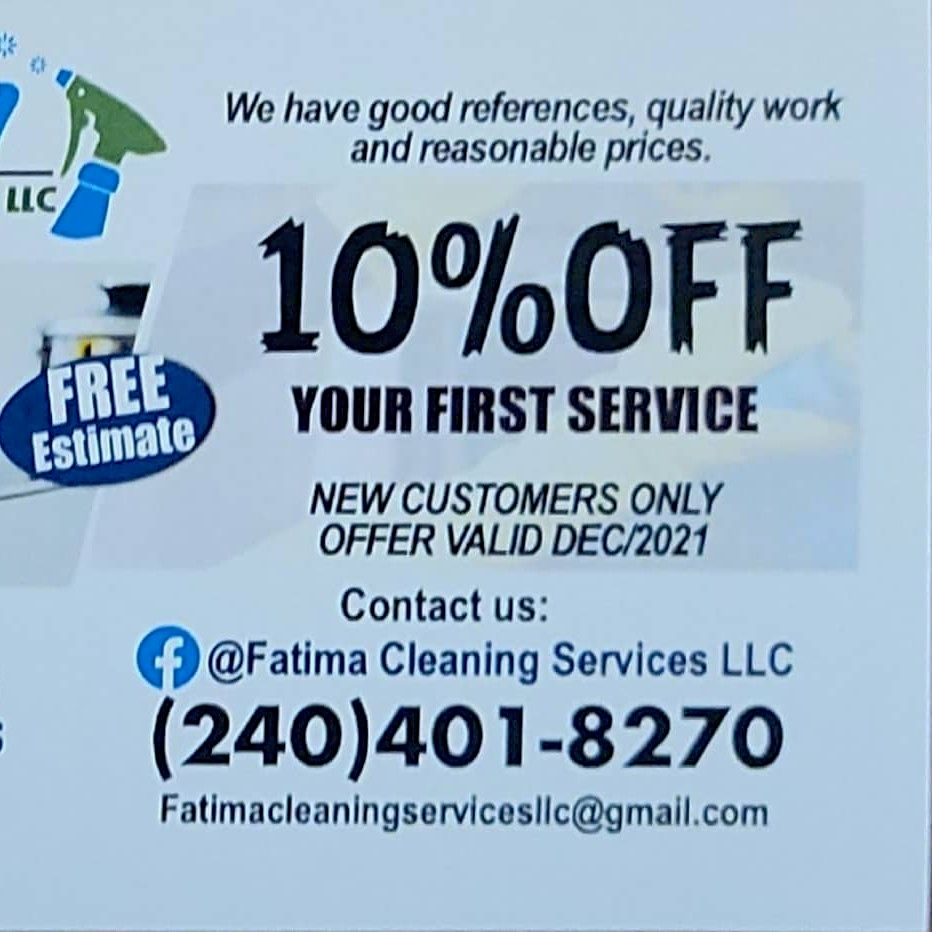 Fatima cleaning services llc