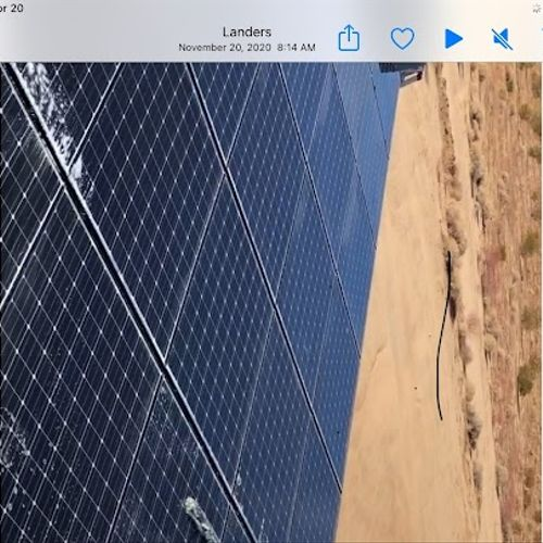 Solar Panel Cleaning After