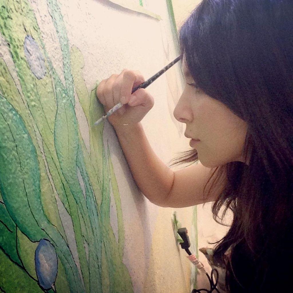Murals by Jennifer Rose
