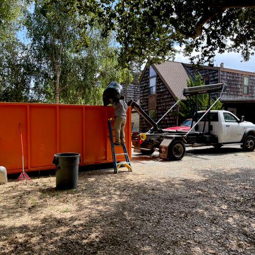 Mixed trash removal in san benancio ca