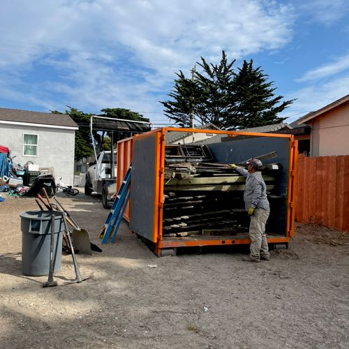 Construction waste removal in marina ca