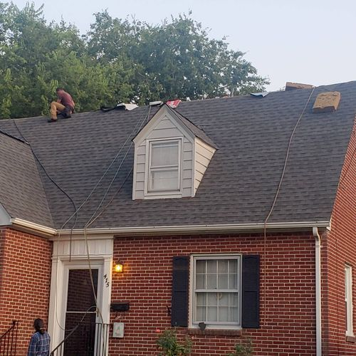 Norfolk area roof replacement