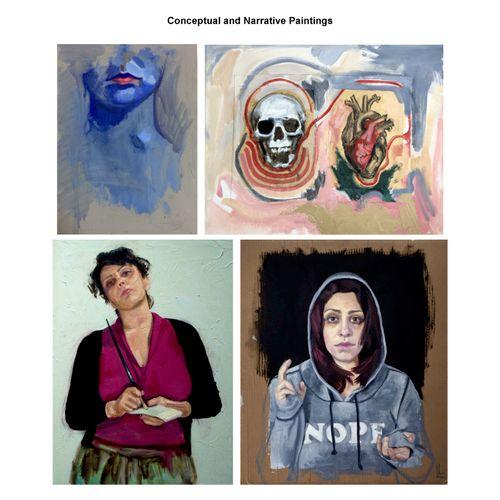 Personal Portfolio - Conceptual Narratives