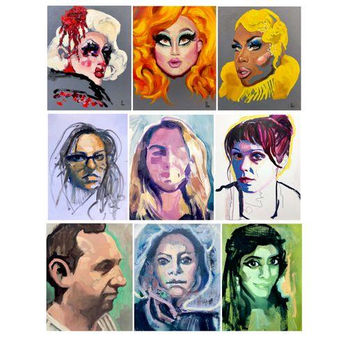 Personal Portfolio - Portraits