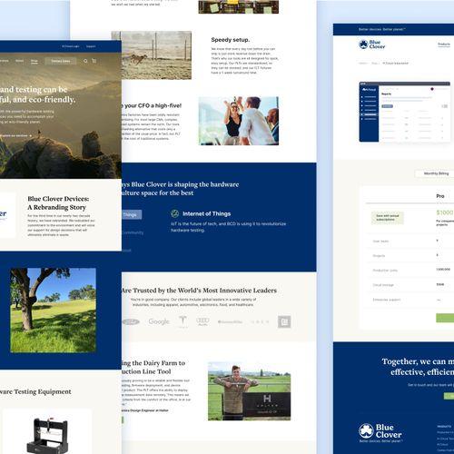 Brand Strategy, Web Design, UI/UX