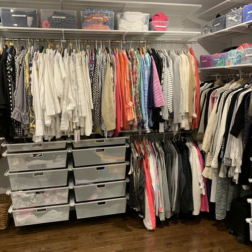 Closet Design and Organize