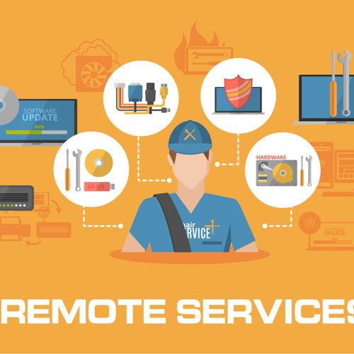 Secure, Remote Service & Repair