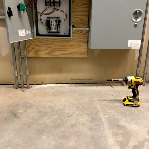 DCP Panel Install