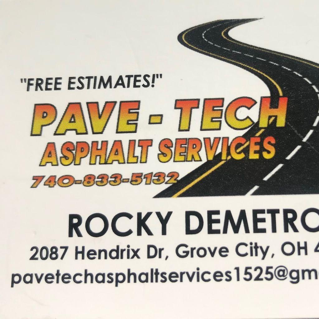 Pave tech asphalt services