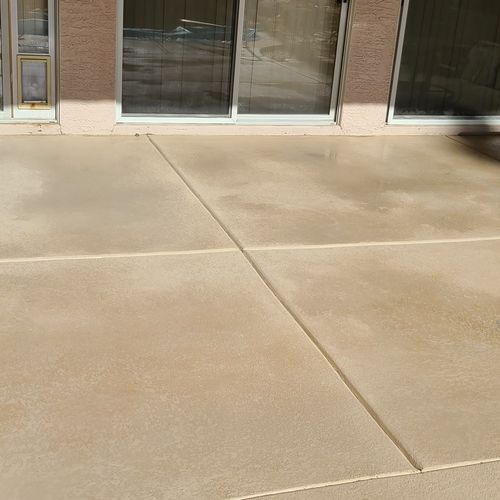 Pressure Washed - Final Product