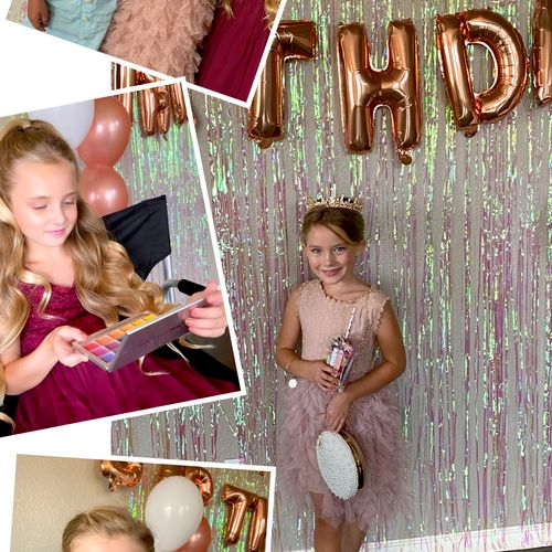 What a glamorous birthday party this was! 💖