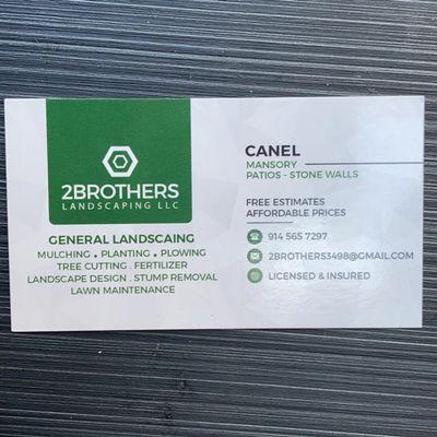 Avatar for 2brothers landscaping & masonry LLC