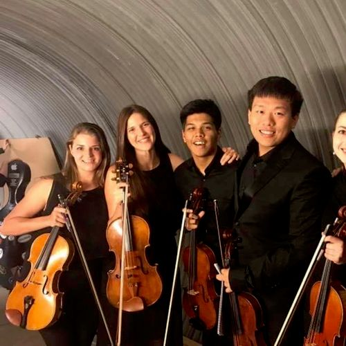 A viola section picture from my summer spent performing in Aspen