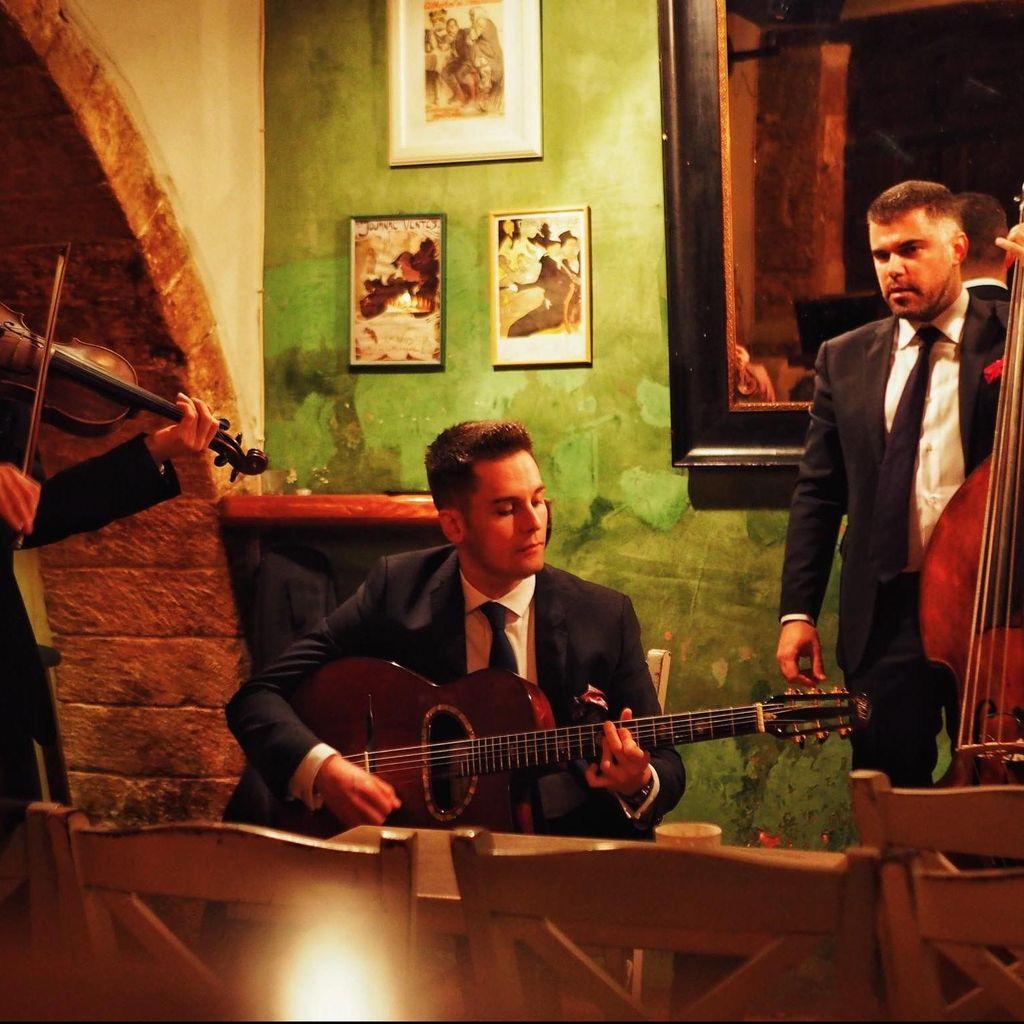 Dennis Pol Jazz & Gypsy Jazz Entertainment