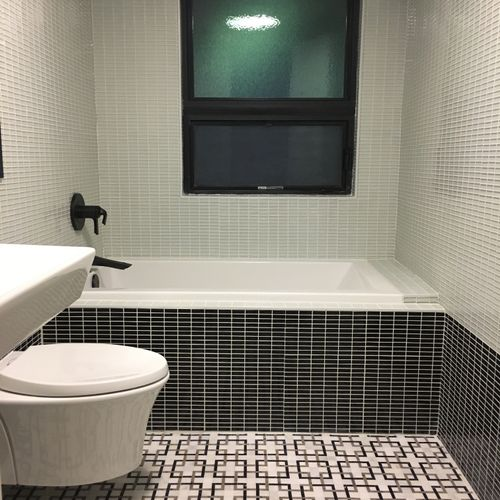 Full Bathroom Gut: Chattanooga, TN. Designer and Project Manager