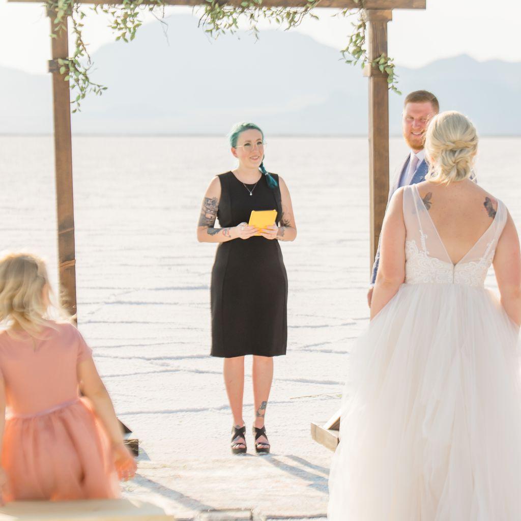 Ash Marie Wedding Officiant