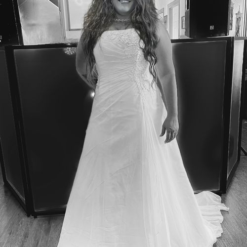 Awesome Bride we had so much fun at her wedding