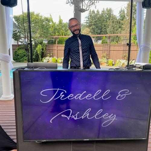 DJing wedding at Orting Manor