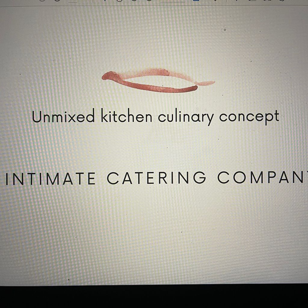 Unmixed kitchen culinary concept