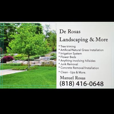 Avatar for De Rosas Landscaping & More