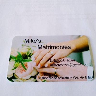 Avatar for Mike's Matrimonies