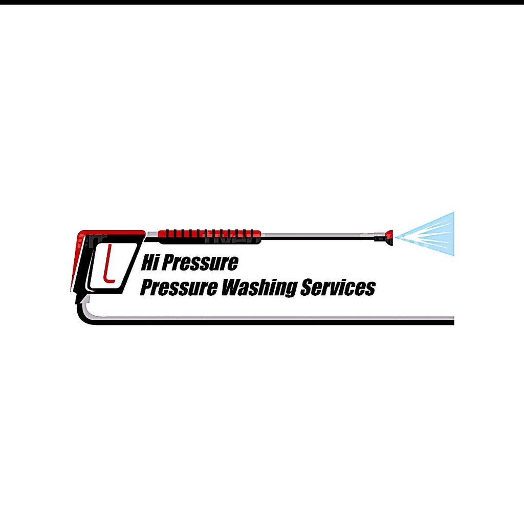 Hi Pressure Pressure Washing