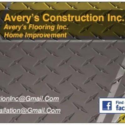 Avatar for Avery's Construction Inc
