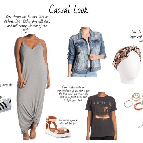 Ways to restyle one dress