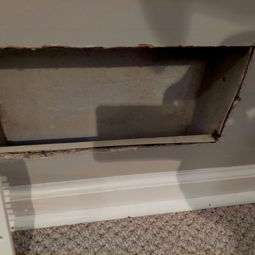 after the clean the duct