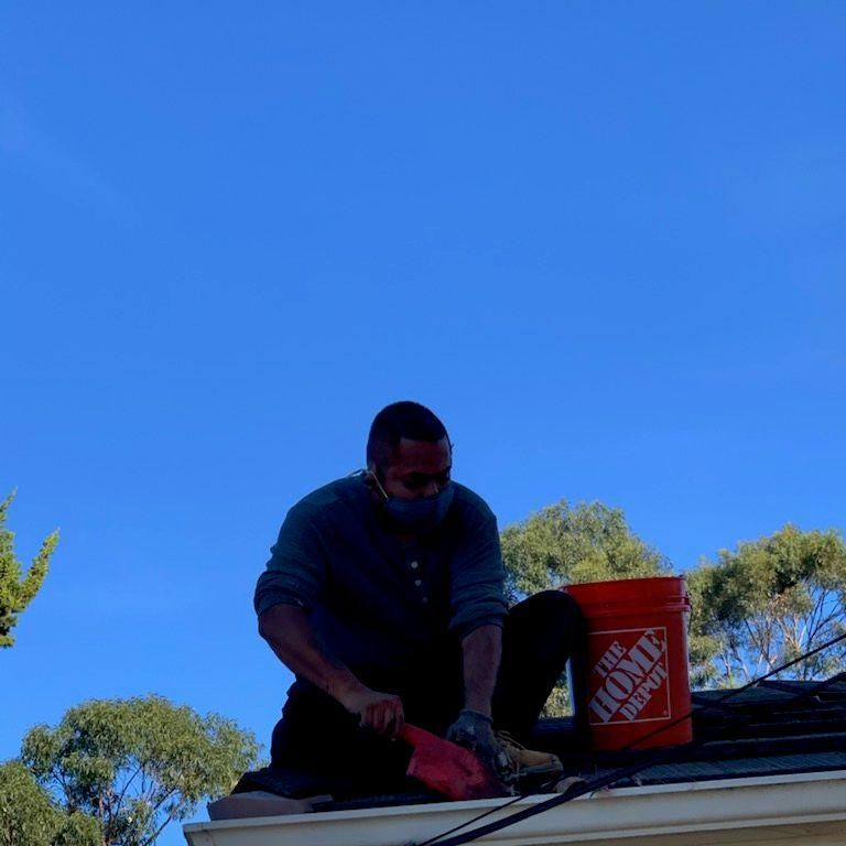sdgutter services and roof repair .