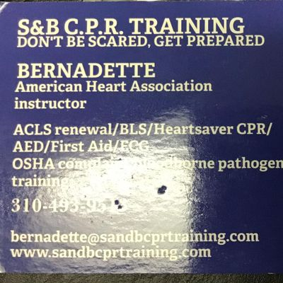 Avatar for S&B CPR Training