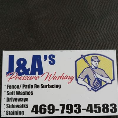 Avatar for J &  A's Pressure Wash Services