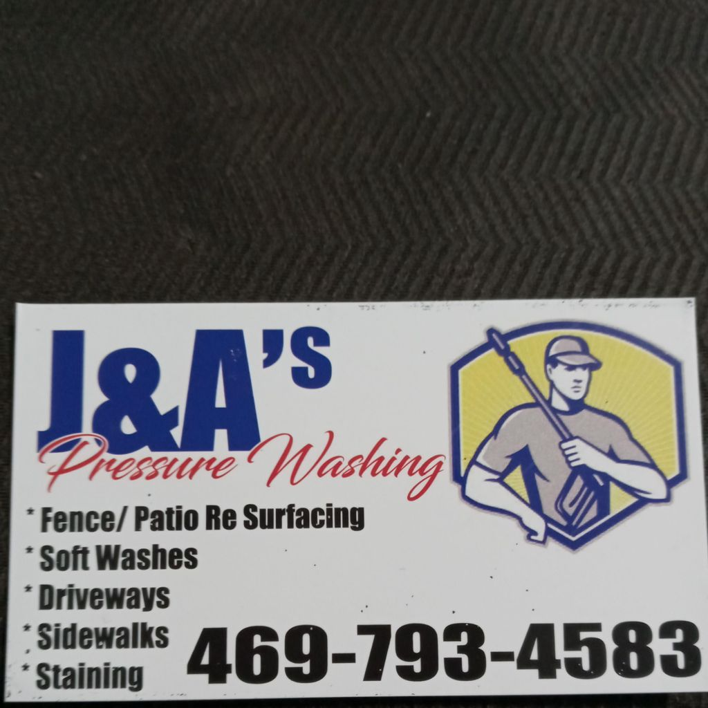 J &  A's Pressure Wash Services