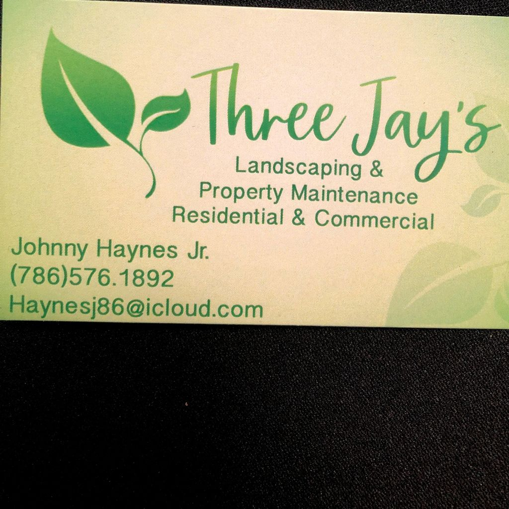Three jays landscaping & property maintenance
